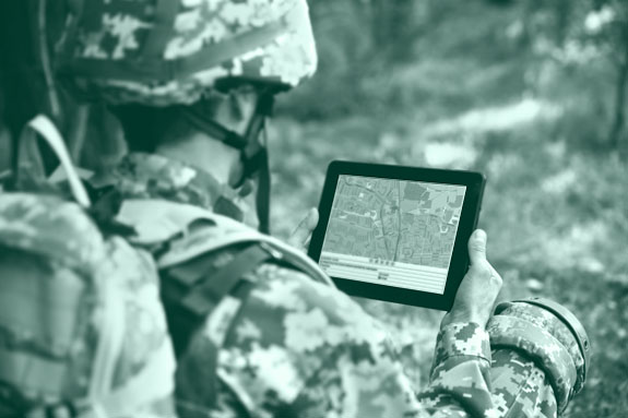 Tracking software in use by military